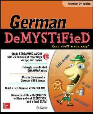 German Demystified, Premium by Ed Swick (Paperback, 2016)