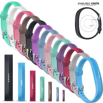 For Fitbit Flex 2 Tracker Band Bracelet Strap Replacement Silicone Rubber Bands