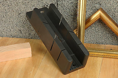 Linic Mini Plus Mitre Block Box 45 & 90 Degree Cut 35mm x 38mm x 205mm W7088