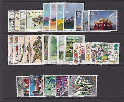 G.b. - Complete 1983 Commemorative Year Set Unmounted Mint - (7 Sets)  (Ref.a2)