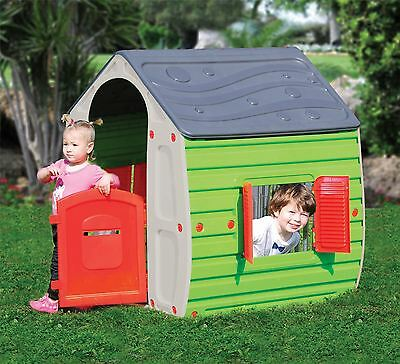 Children Kids Pretend Play Indoor Outdoor Summer Garden Plastic Play House