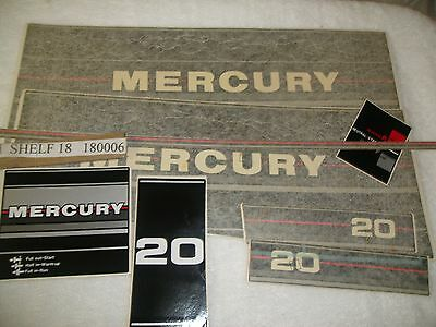 New  37-13480A86  Decal  Set   Quicksilver Mercruiser  Mercury