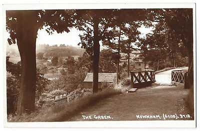 NEWNHAM ON SEVERN The Green, RP Postcard by Lilywhite, Unused