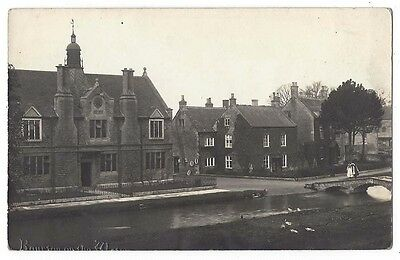 BOURTON ON THE WATER Victoria Hall, RP Postcard by WJ Butt, Unposted
