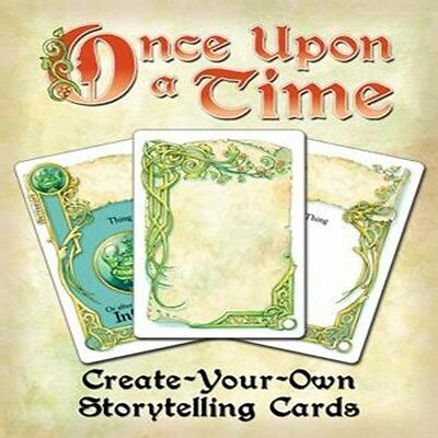 Once Upon A Time Create-Your-Own Storytelling Cards - Brand New!