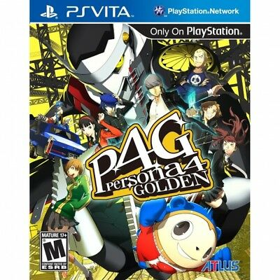 Persona 4 Golden Game PS Vita - Brand New!