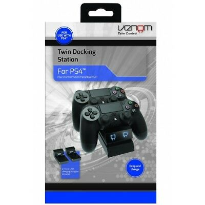 Venom Twin Docking Station PS4 - Brand New!