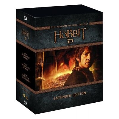 The Hobbit Trilogy - Extended Edition Blu-ray 3D