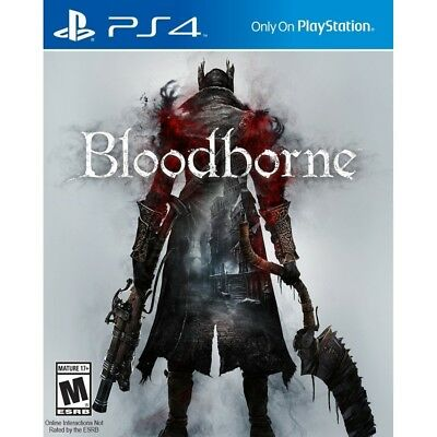 Bloodborne PS4 Game - Brand New!