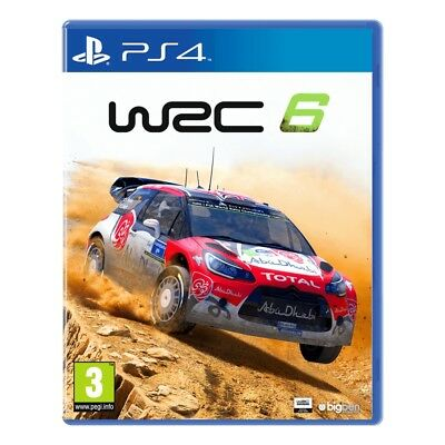 WRC 6 PS4 Game - Brand New!