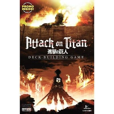 Attack on Titan Deck-Building Game - Brand New!