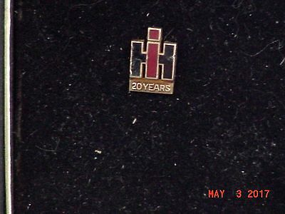 International Harvester 20 Year Service Tie Tac Pin, vintage