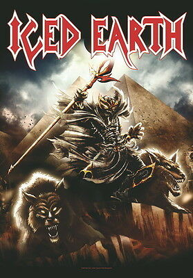"Iced Earth Flagge / Fahne ""framing Armageddon"" Poster Flag Posterflagge"