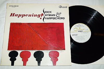 Dick Hyman And Harpsichord ‎– Happening!, OIS, LP, Vinyl, US 1966, vg++