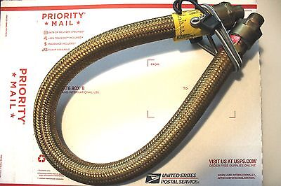 "Crouse Hinds ECG JH233 Flexible 33"" Explosion Proof Brass 3/4"" Coupling  NOS"
