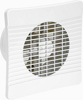 """Airvent On/Off Extractor Fan 6"""" 150mm Low Profile - Kitchen/Large Bathroom Wall"""