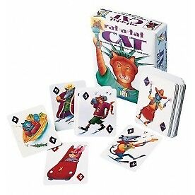 Gamewright Rat-a-tat Cat Game - Brand New!