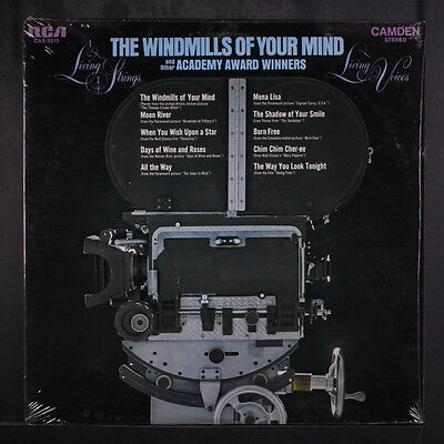 LIVING STRINGS & LIVING VOICES: The Windmills Of Your Mind LP Sealed Vocalists