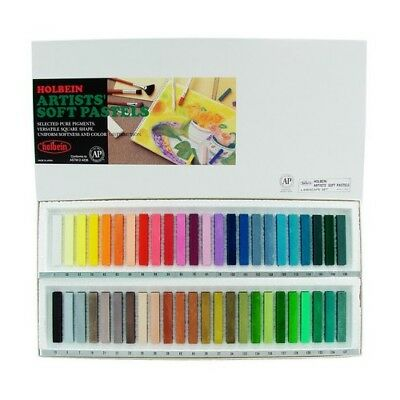 Holbein Artists Colors Hb157048L  Artists Soft Pastel Set Of 48 Landscape