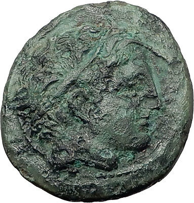 Philip II 359BC Olympic Games HORSE Race WIN Macedonia Ancient Greek Coin i61121