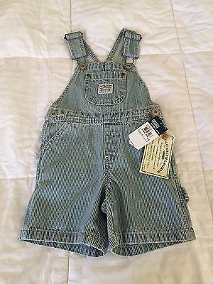 Polo Ralph Lauren Baby Boy Jean Overalls 12 months old NWT's