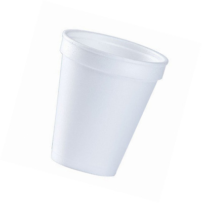 8 Oz White Disposable Coffee Foam Cups Hot and Cold Drink Cup (Pack of 150)