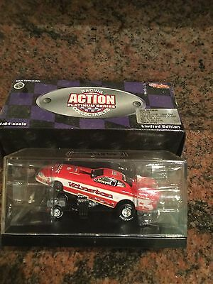 1:64 Whit Bazemore 1997 Top Fuel  Mustang Funny Car Action Racing Collectibles