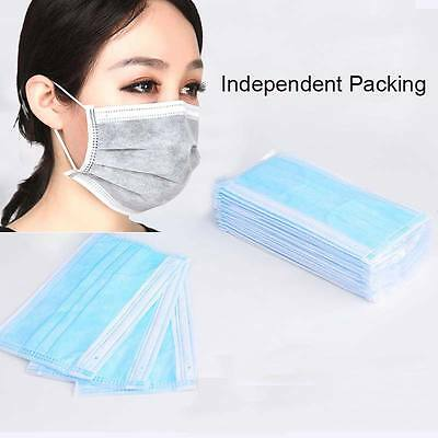 Disposable Respirator Surgical Face Medical Mask Dust Cleaning Ear Loop Flu