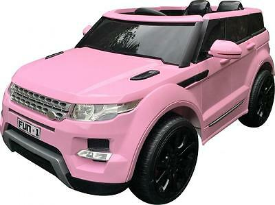 Range Rover HSE Style Battery Electric Ride on Jeep Car Range Rover Style Pink
