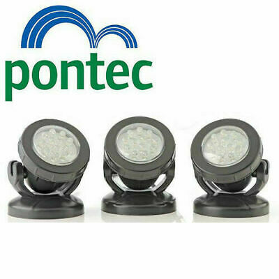 Pontec Pondostar LED Set of 3 Pond Lights Lighting for underwater & garden OASE