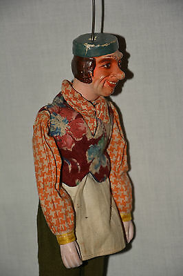 Koch Marionette Stabmarionette Kellner Page Theater String Puppet Theatre