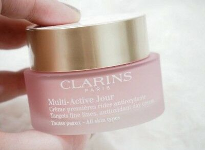 Clarins Multi Active Jour Day Cream - All Skin Types  50ml New & Sealed