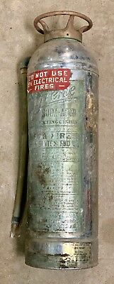 Antique Soda Ash Fire Extinguisher - Stop Fire - UL Tested - Vintage - USA Made