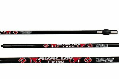 New Avalon Archery Tyro Carbon Stabiliser Stabilizer Rods With Damper & Weights
