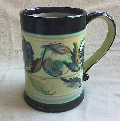 Denby Extra Large Tankard Mug Hand Painted Signed Glyn Colledge Excellent 1St