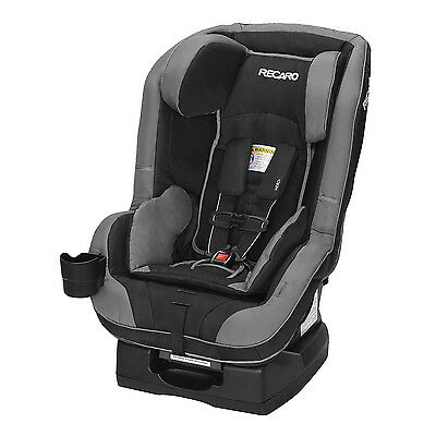 Recaro Roadster 5-65 Pounds Convertible Safety Booster Car Seat, Knight Black