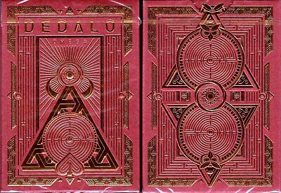 Dedalo Omega Playing Cards Poker Size Deck EPCC Thirdway Industries Limited New