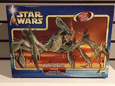 Star Wars Attack Of The Clones Acklay Arena Battle Beast Hasbro New Sealed