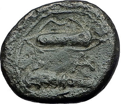 ALEXANDER III the GREAT 325BC Macedonia Hercules Club Ancient Greek Coin i59706