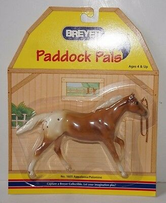 VTG Breyer Paddock Pals Appaloosa Palomino Blanket Thoroughbred Stallion 1605