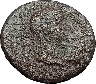 Greek King RHOEMETALKES of THRACE & AUGUSTUS Ancient Roman Coin CAPRICORN i59741