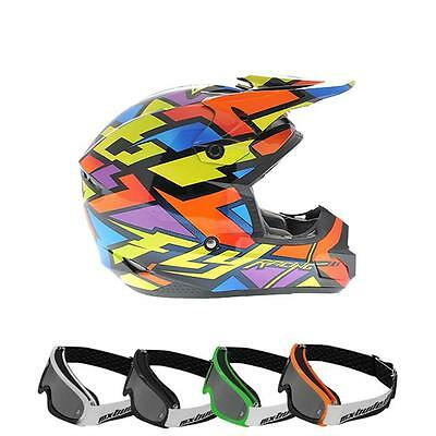 fly 2014 motocross helm kinder kinetic block out wild. Black Bedroom Furniture Sets. Home Design Ideas