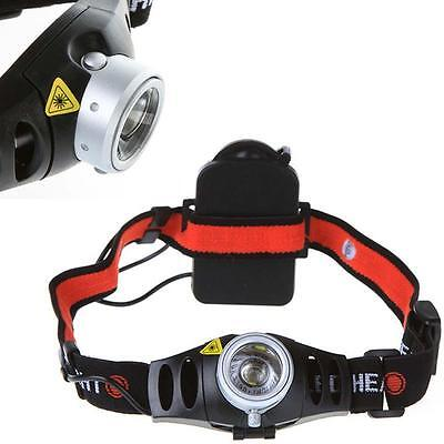 Ultra Bright 3500 Lumen CREE Q5 LED Zoomable Headlamp Headlight Head Torch BY