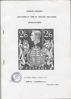 'KING GEORGE VI ARMS TO FESTIVAL, DESIGN TO PRESS' by GERRY BATER