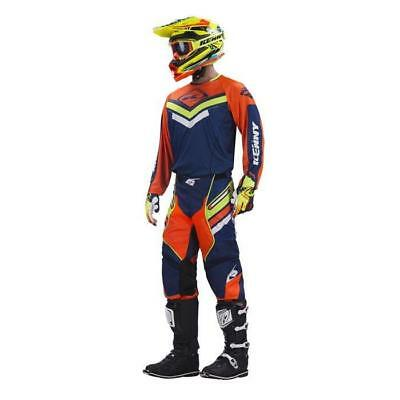 KENNY TITANIUM Motocross Jersey + Hose navy-orange-lime Motocross Enduro MX Cros