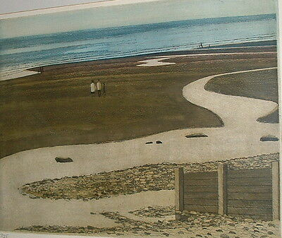Derek Wilkinson (1929-2001) Limited Edition British Etching John Brunsdon Style