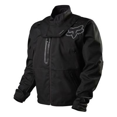 Fox  Motocross Jacke  Legion Brace  Schwarz/Grau Motocross Enduro MX Cross