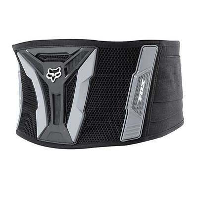 FOX JUNIOR TURBO KIDNEY BELT Kinder Nierengurt  - schwarz-grau Motocross Enduro