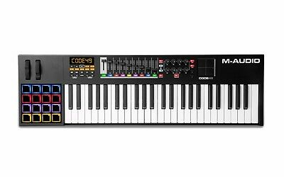 M-AUDIO Code 49 Black USB MIDI Controller