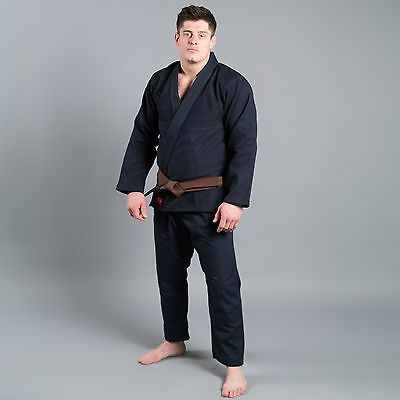 "Scramble ""Standard Issue – Semi Custom"" Kimono – Navy Edition Bjj / Mma"